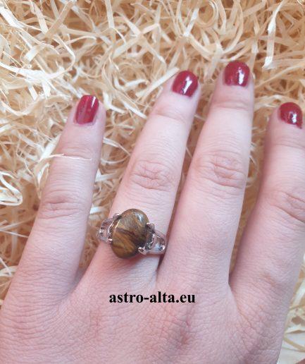 Tigrovo oko prsten